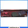 Клавиатура HK-6300 TZ + мышка - игровой комплект проводная клавиатура для ПК с цветной RGB подсветкой + мышь, фото 5