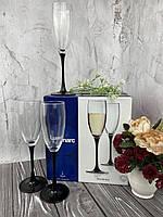 Бокалы для шампанского Luminarc DOMINO H8167 (набор.)  6 шт. 170 мл, фото 1