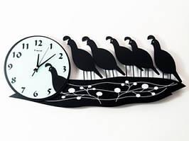 Настенные часы Павлины