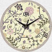 Настенные Часы Mini Волшебные Цветы