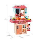Детская игровая кухня 889-168 с водой и паром, 42 предмета, высота 63 см, фото 2