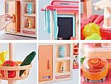 Детская игровая кухня 889-168 с водой и паром, 42 предмета, высота 63 см, фото 4