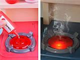 Детская игровая кухня 889-168 с водой и паром, 42 предмета, высота 63 см, фото 6