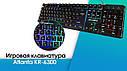 Проводная игровая клавиатура с подсветкой  KR-6300, фото 2