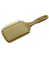 Щётка для волос OLIVIA GARDEN бамбуковая овальная RECTANGULAR EPOXY большая OGBHHP7