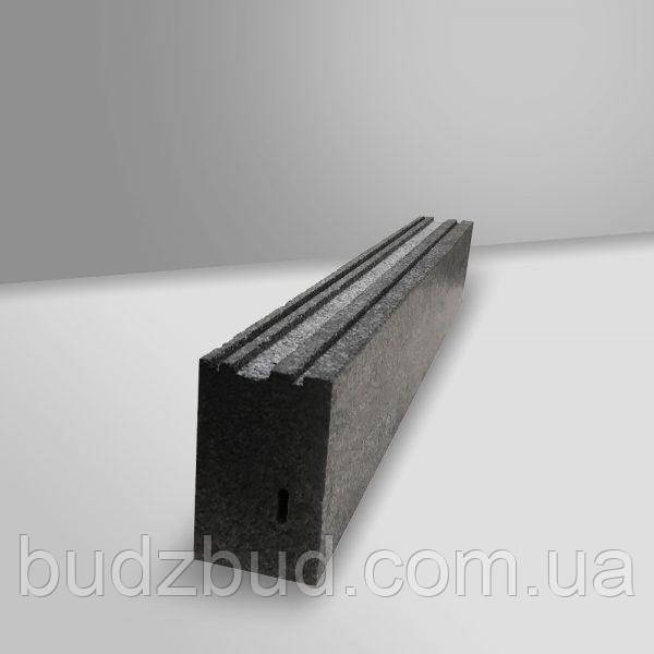Тёплый подставочный профиль Black Nyxon 45х27х1300 посадка 35мм