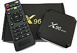 Приставка смарт тв X96 mini, 4-ядерная android smart tv box, фото 2