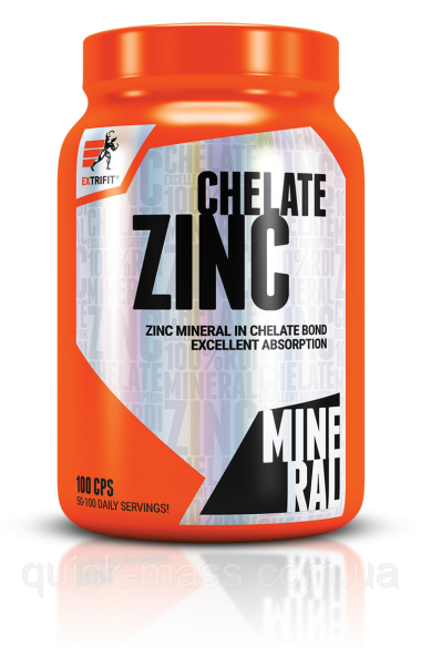 Цинк хелат Extrifit Zinc Chelate 100 caps
