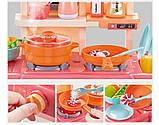 Детская игровая кухня 889-168 с водой и паром, 42 предмета, высота 63 см, фото 5