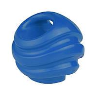 Іграшка для собак Bronzedog FLOAT плаваюча Силовий м'яч 11 см синій