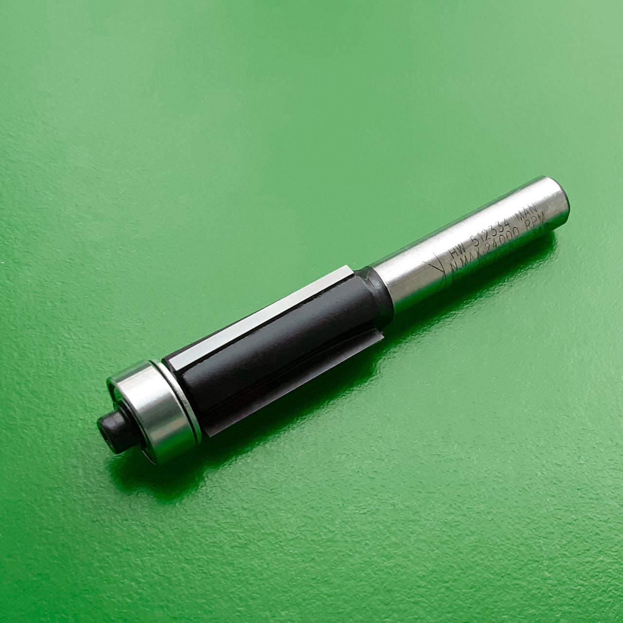12,7х25х70х8 z=3 Фреза Stehle для ручного фрезера для обработки кромки с нижним подшипником