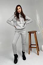 костюм женский Modus Бруклин трикотаж 3х нитка с начесом прогулочный костюм 9663, фото 2