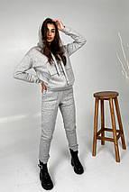 костюм женский Modus Бруклин трикотаж 3х нитка с начесом прогулочный костюм 9663, фото 3