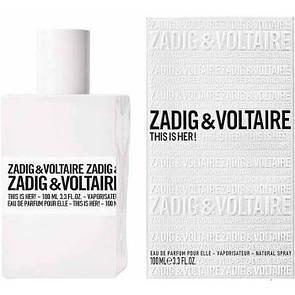 Женская парфюмированная вода Zadig & Voltaire This is Her 100 мл