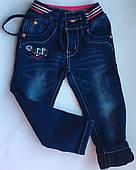 Утепленные джинсы на девочку р-р 92