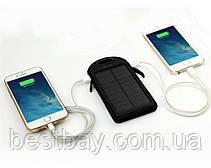 Портативное зарядное Power Bank Solar 50000 mAh на солнечной батареи | PowerBank LED, фото 3