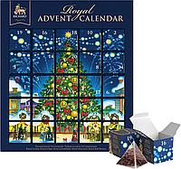 """Чайный набор-ассорти Ричард Ройал Календарь Richard """"Royal Advent Calendar"""", 25 пирамидок, фото 1"""