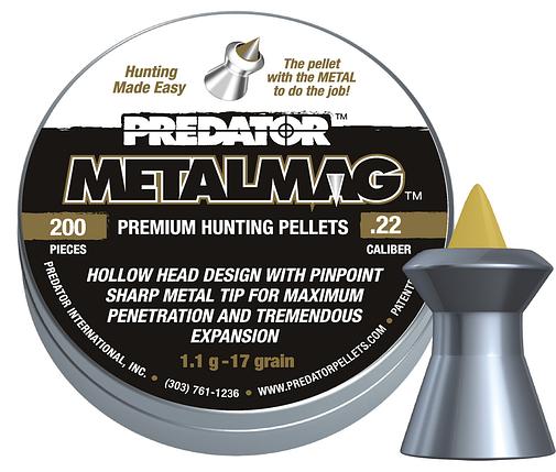 Пули пневм JSB Metalmag, 5,5 мм , 1,1 г, 200 шт/уп, фото 2