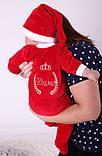 Нарядный новогодний именной человечек для новорожденных, фото 2