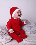Нарядный новогодний именной человечек для новорожденных, фото 5