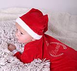 Нарядный новогодний именной человечек для новорожденных, фото 4