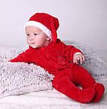 Нарядный новогодний именной человечек для новорожденных, фото 7