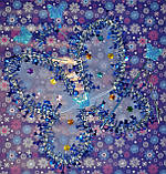 Карнавальный набор ( 3 предмета) для девочки - Новогодняя бабочка, фото 3