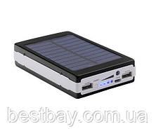 Power Bank powerbank 50000 mAh Solar LED   Повер Банк LED   Портативное зарядное устройство   Пауэр Солар, фото 2