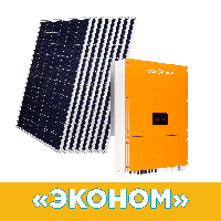 """Комплект СЕС """"Економ"""" інвертор LPM-SIW-30kW + сонячні панелі"""