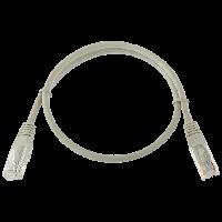 Патч-корд литий LogicPower UTP RJ45 кат. 5Е 0.5 м (сірий)
