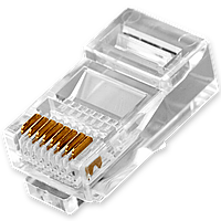 Конектор RJ45 LogicPower (1000 шт)