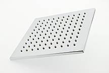 Душ потолочный, латунный 200х200 мм и 8 мм толщиной ( БК 20 ) Разборная, фото 2