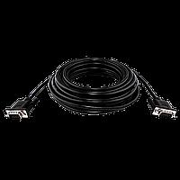 Кабель VGA-10.0 BK LogicPower 10 м чорний (з двома феритовими кільцями)