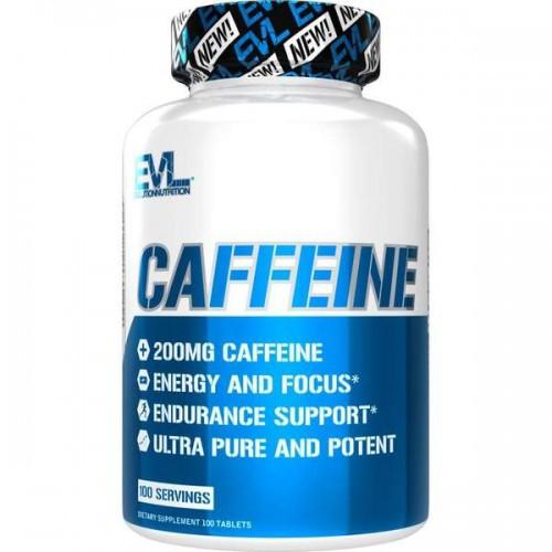 Кофеїн Evlution Nutrition Caffeine 100tabs