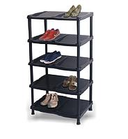 Полка для обуви Grand 90,5 х 49 х 31,5 см Черная, фото 1