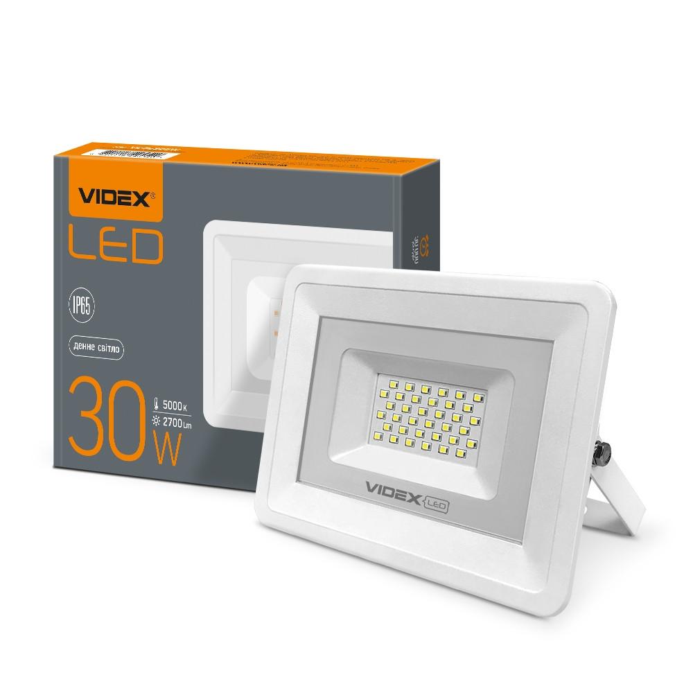 LED прожектор VIDEX 30W 5000K 220V  (VL-Fе305W)