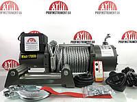 Лебідка Profinstrument 17000Lbs 12,24 V на джип, евакуатор, Offroad