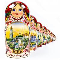 Матрешка 10 кук. Киев (26см)