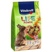 Корм Vitakraft Life Power для кроликів з бананом, 600 г