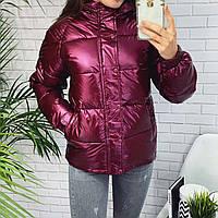 Короткая куртка с капюшоном, фото 1
