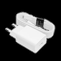 Зарядний пристрій LP АС-003 USB 5V 2A + кабель USB - Micro USB (Білий) /OEM