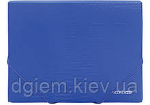 Папка на резинках А4 Economix пластиковая ассорти