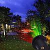 Уличный новогодний лазерный проектор для дома Star Shower Laser Light Лазерная установка Звездное небо, фото 2