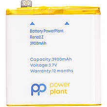 Аккумулятор PowerPlant OPPO Reno2 Z 3900mAh