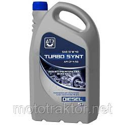 Масло моторное ДТЗ Turbo Synt Diesel 10W-40 API CF-4/SG 5 л ПЭ