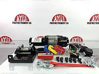 Лебідка автомобільна Profinstrument 3500Lbs 12V на квадроцикл, Електрична лебідка