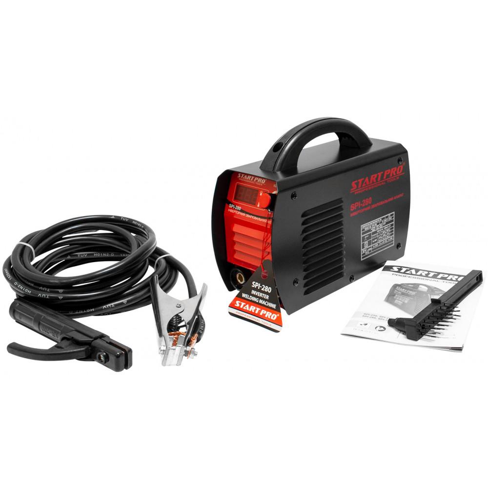Інвертор зварювальний 280А 1.6-5.0мм START PRO SPI-280