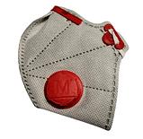 Респиратор, маска Микрон FFP3 с клапаном выдоха, маска ФФП3 с угольным фильтром, фото 3