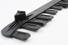 Гребень защитного кожуха для бензокос серии 40 - 51 см. куб