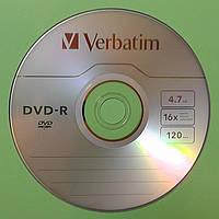 Диск DVD+/-R Verbatim 4,7 Gb 16x